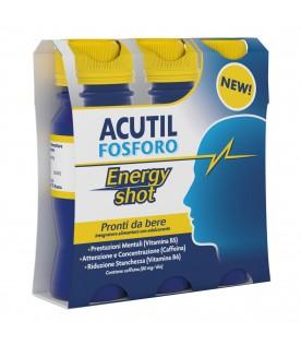 ACUTIL Fosforo Energy Shot 3 Flaconcini 60 ml