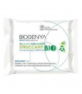 BIOGENYA Salviettine Struccanti Bio 20pz