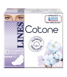 LINES Cotone Ultra Ali GG 10pz