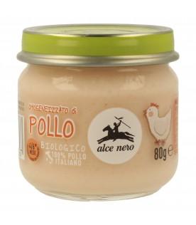 ALCE OMO Pollo Bio 80g