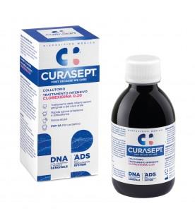 Curasept ADS Collutorio con Clorexidina 0,20 - Trattamento intensivo antibatterico ed antiplacca - 200 ml