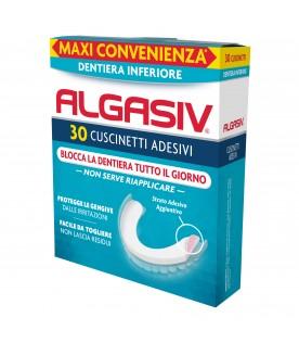Algasiv Adesivo 30 Cuscinetti Protesi Inferiore