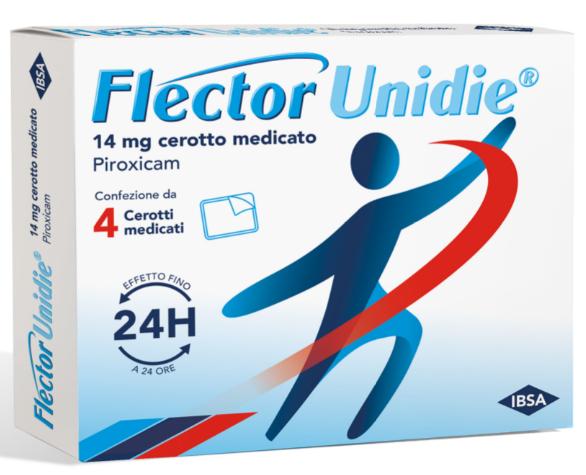 FLECTOR UNIDIE*4 Cer.Med.14mg
