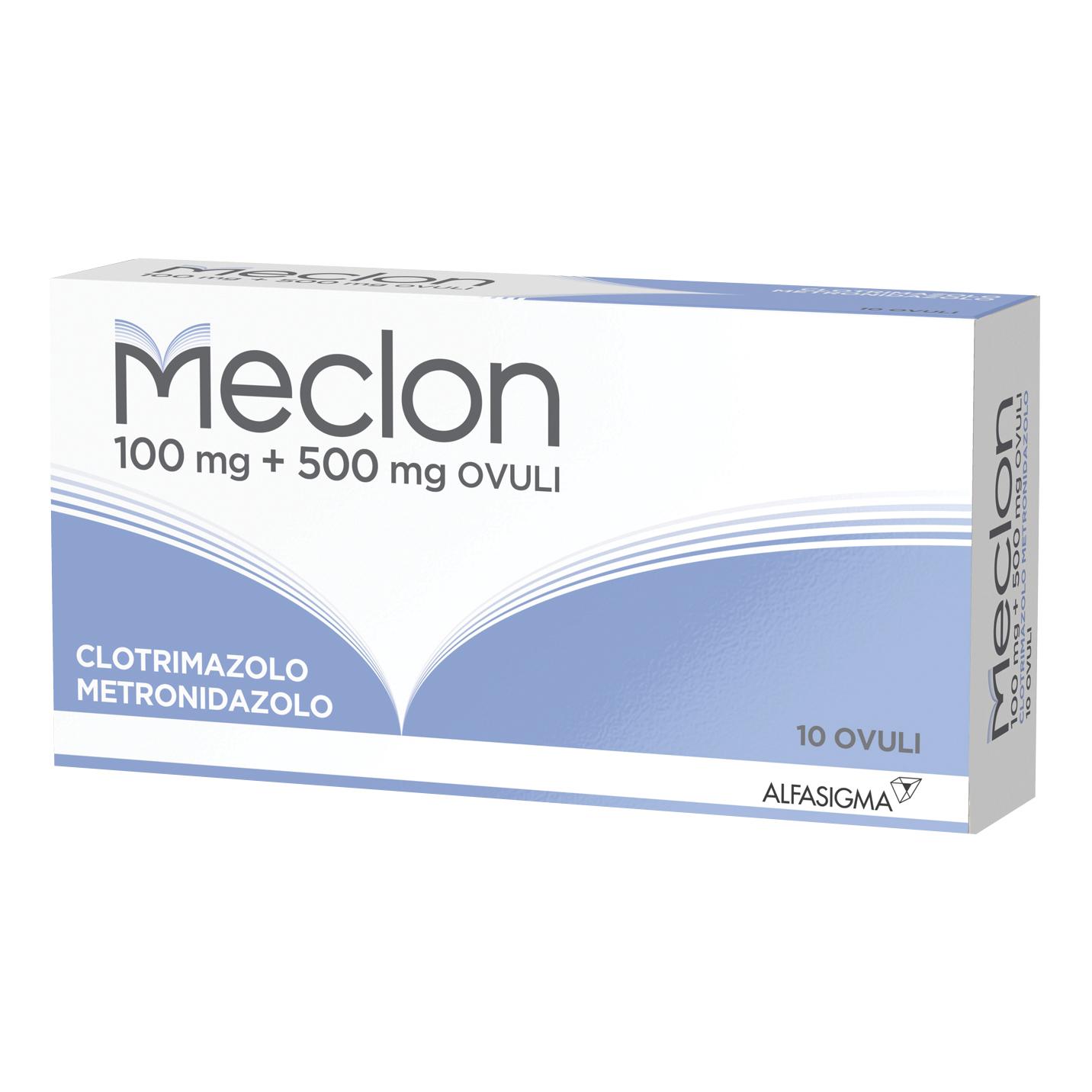 Meclon 10 Ovuli Vaginali 100+500mg